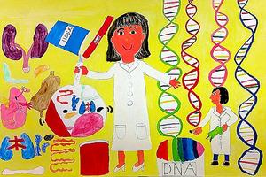 文部科学大臣賞「DNAねんど」