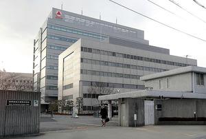 武田薬品工業の十三地区の拠点。一部は売却されることになった=大阪市淀川区