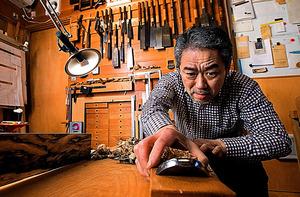 木工芸作家・須田賢司さん