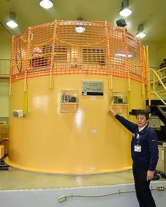近畿大学の研究用原子炉=大阪府東大阪市
