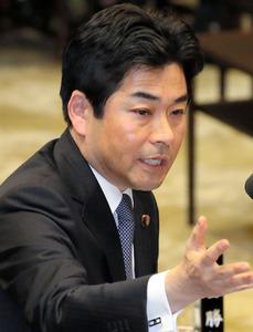 民進党の山井和則国会対策委員長