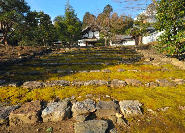 妙光寺へあがる石段