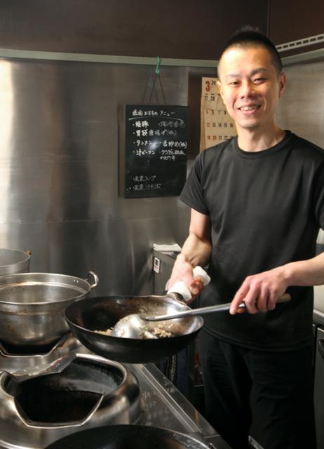 徳江正道さん=酒井羊一撮影