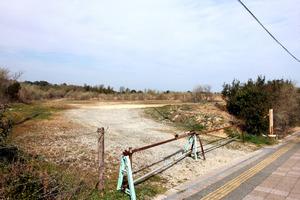 加計(かけ)学園が獣医学部を新設する予定の土地=4日、愛媛県今治市いこいの丘