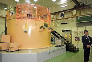 近畿大の研究用原子炉=大阪府東大阪市