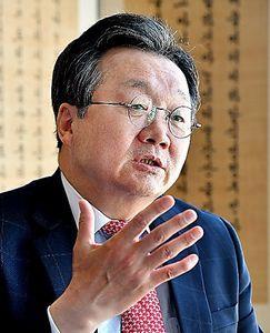 韓国の李俊揆・駐日大使