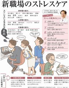 新職場のストレスケア<グラフィック・西森万希子>