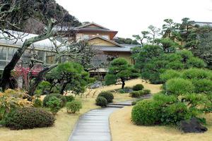 再建された旧吉田茂邸=神奈川県大磯町、岩尾真宏撮影
