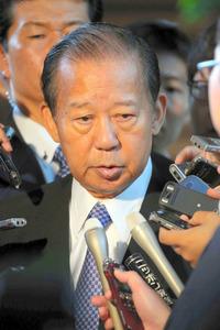 二階俊博・自民党幹事長