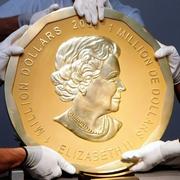 重さ100キロ、巨大金貨盗まれる ベルリンの博物館