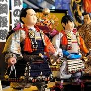 五月人形に稀勢の里・羽生選手… 久月「期待大将」