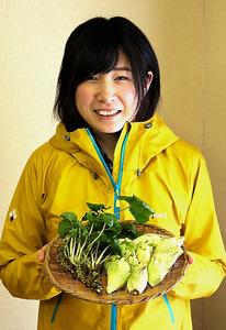 (リレーおぴにおん)みどりの恵み:1 山のおすそ分け、謙虚に頂く 栗山奈津子さん