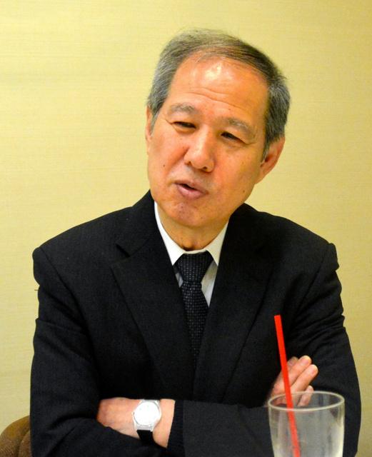 鈴木邦男さん=東京都新宿区