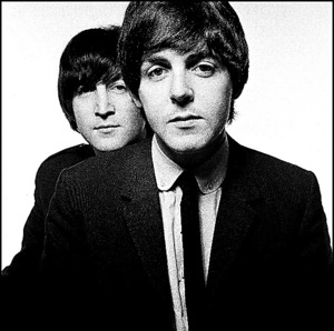 John and Paul (C) David Bailey