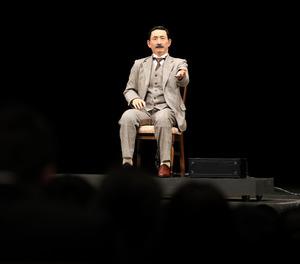 漱石アンドロイド、入学式で祝辞 生前の講演から引用