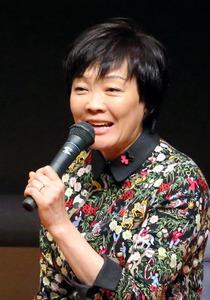 イベントに登壇した安倍昭恵氏=3月7日、東京都文京区