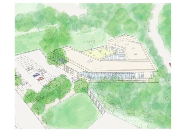 香川県・高松市動物愛護センター(仮称)のイメージ図