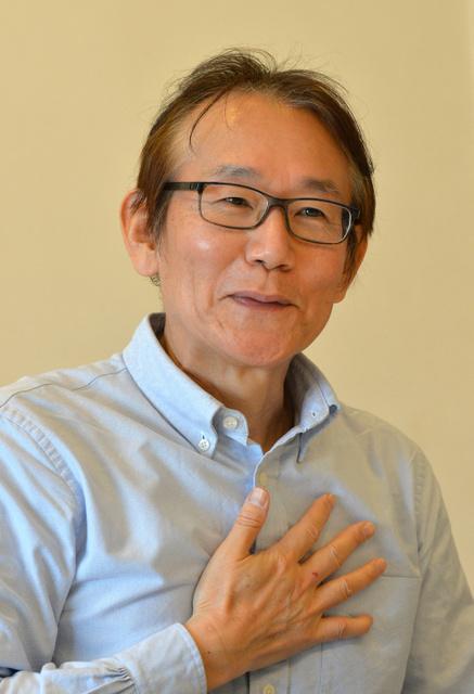 インタビューに答える周防正行監督=東京・渋谷、相場郁朗撮影