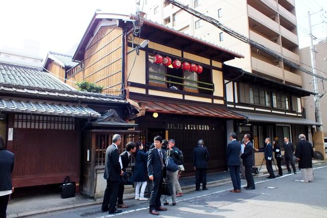 改修が完成した四条町大船鉾会所=下京区