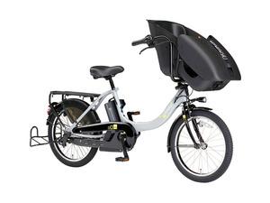 子どもをすっぽり包む電動アシスト自転車