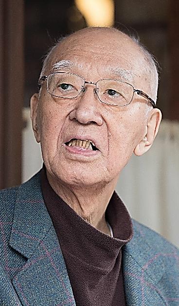 半藤一利さん=関田航撮影