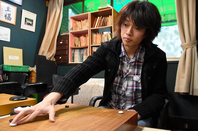 「いつかは長谷川さんを越えたい」と話す永峯将法さん=高崎市下横町