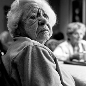 認知症になった、リア・ビーチさんの曽祖母=リアさん提供
