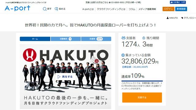朝日新聞社のクラウドファンディングサイト「A―port」での募集画面