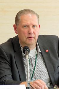 国際アルツハイマー病協会事務局長のマーク・ウォートマンさん