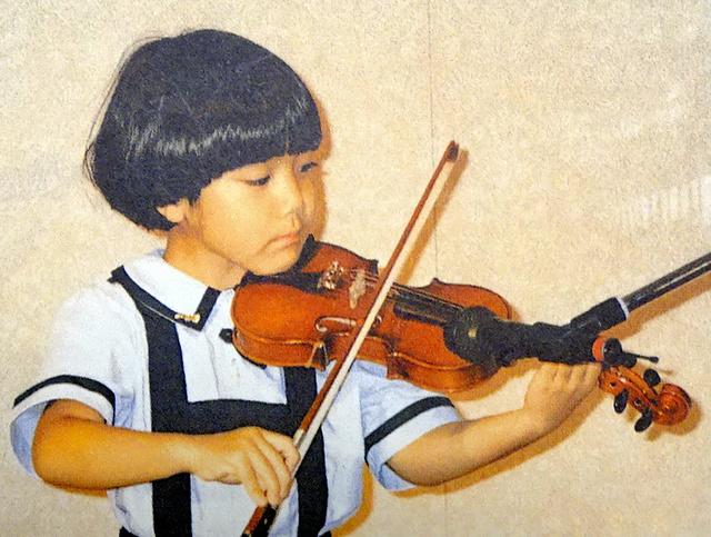 6歳くらいのときの小室圭さん=山内純子さん提供