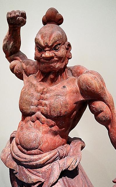 金剛力士立像の吽形(うんぎょう)=矢木隆晴撮影
