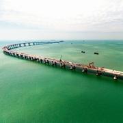 世界最長の海上橋工事、コンクリート強度偽装か 中国
