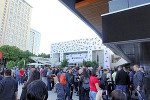 写真1 WWDCの会場となったサンノゼ・コンベンションセンター=写真はいずれも西田宗千佳氏