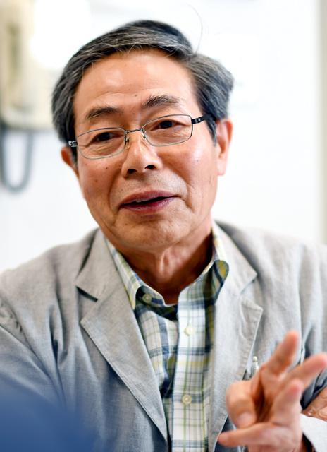 「共謀罪」について話す池内了・名古屋大名誉教授=迫和義撮影