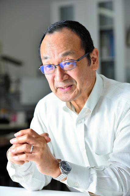 石井直方・東京大学教授=工藤隆太郎撮影