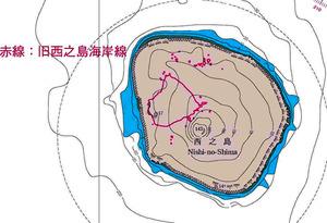 【火山】西之島の海図、完成後すぐに作り直しへ 噴火で拡大続く 新たな領海は東京都新宿区の約4倍 海上保安庁©2ch.netYouTube動画>2本 ->画像>27枚