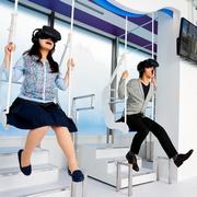 「仮想遊園地」都市部に次々 狭い土地でもドキドキ体験