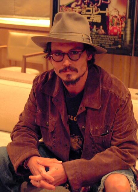 ジョニー・デップさん=2005年9月撮影