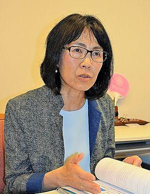 日本女子大の小山聡子・人間社会学部長