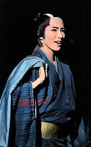 「幕末太陽傳」の早霧せいな(C)宝塚歌劇団