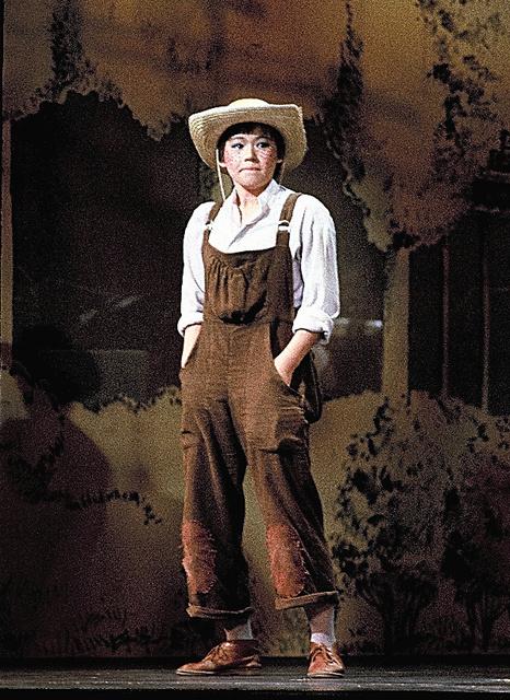 初演の時の私。無我夢中で演じていました=1979年、東京・日生劇場(C)松竹