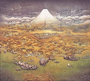 「山海図絵(伊豆の追憶)」=木下美術館蔵