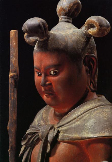 運慶 国宝「八大童子立像」のうち「制多伽童子」(部分) 和歌山・金剛峯寺蔵 高野山霊宝館提供