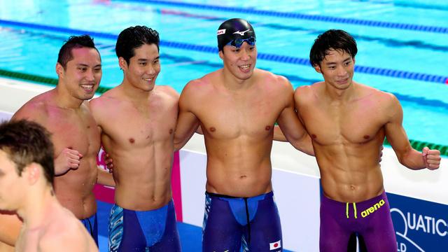 競泳日本代表、メダルは7個 金は...