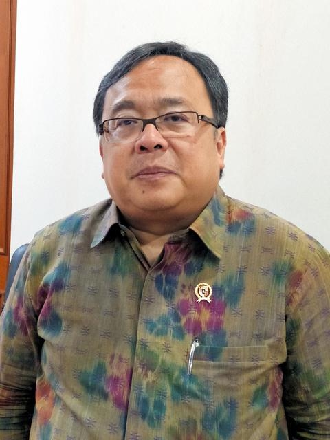 バンバン・ブロジョネゴロ・インドネシア国家開発企画庁長官=吉岡桂子撮影
