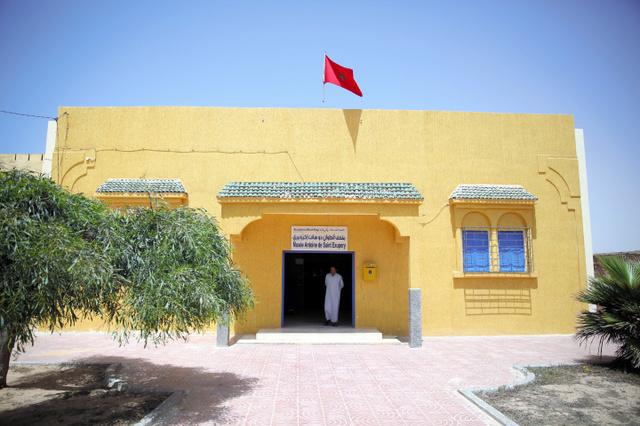 サンテグジュペリ博物館=タルファヤ、三浦英之撮影
