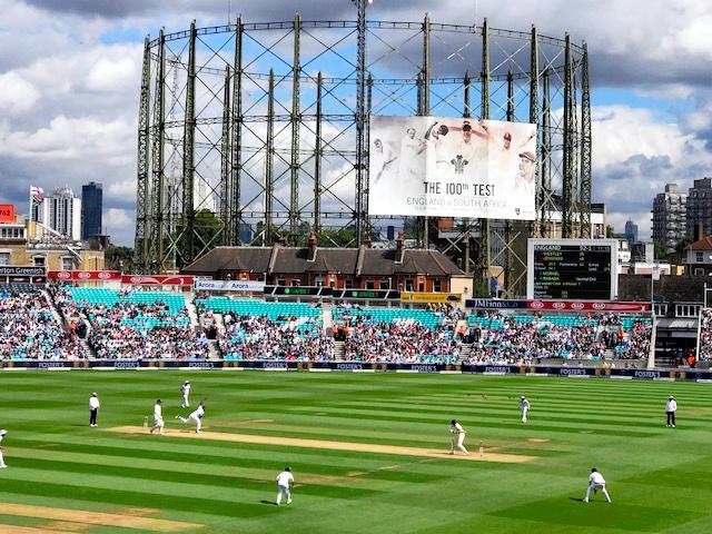 イングランド対南アフリカが行われたオーバル=ロンドン