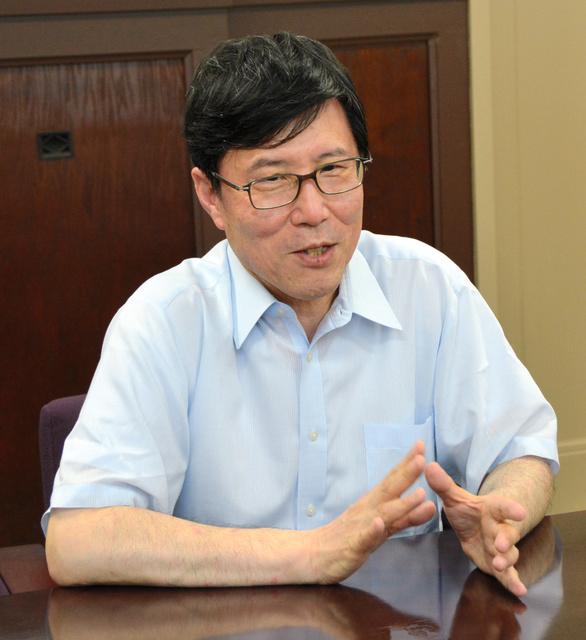 正司健一教授=神戸市