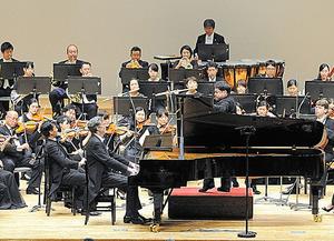 広島交響楽団「平和の夕べ」コンサート=広島交響楽団提供