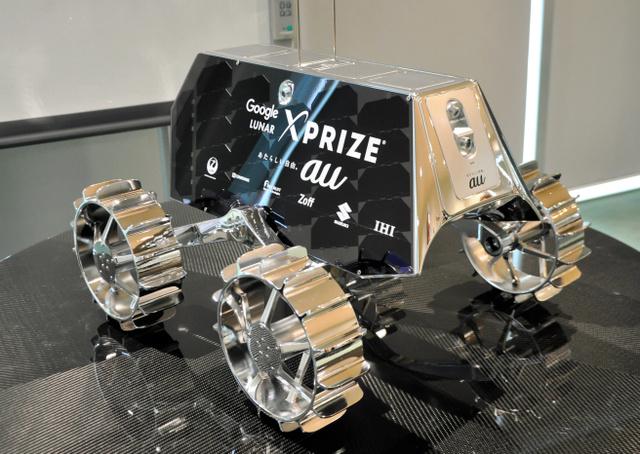 ハクトの探査車SORATO(ソラト)の模型